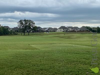 The player course at Watters Creek/9洞
